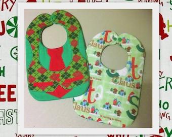 Baby Christmas Vest  Bibs