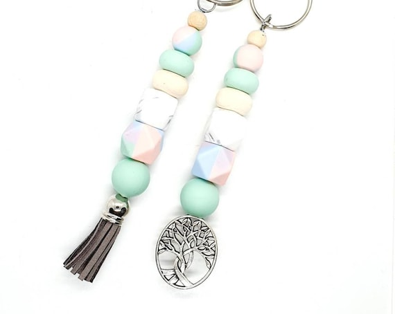 Beaded Keychain / Keychains for Women