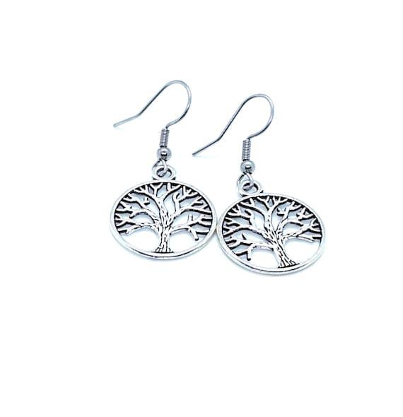 Tree of Life Earring / Silver Earrings / Family Tree