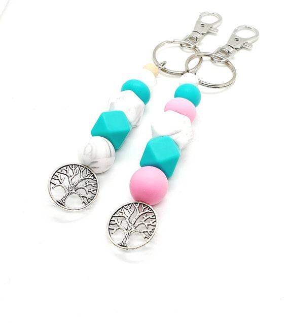 Turquoise Keychain / Cute Keychains / Bag Charm