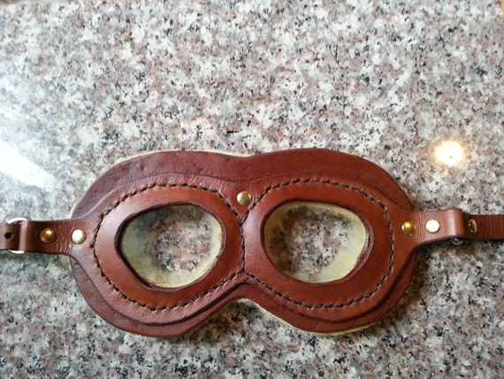 Steampunk Kids Costumes | Girl, Boy, Baby, Toddler Kids Sized Aviator Goggles $20.00 AT vintagedancer.com