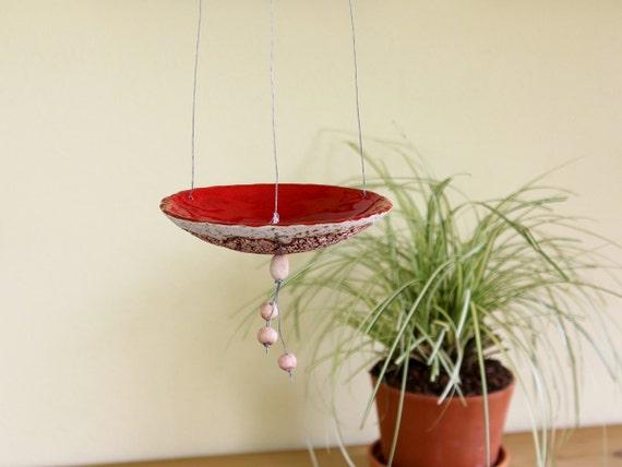 kerzenteller windlicht h ngeampel keramik. Black Bedroom Furniture Sets. Home Design Ideas