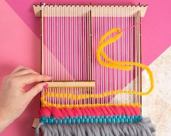 Pop-up Weaving Loom