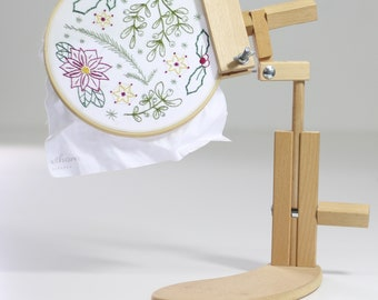 Embroidery Hoops Frames Stands Etsy Nz