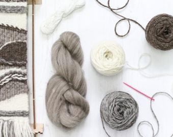 Weaving Pack Naturals, Wall Hanging Kit, Weaving Loom Kit, Wall Hanging, Wall Tapestry, Boho Decor, Woven Wall Art, Weaving Kit