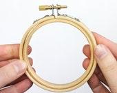 "Wooden Embroidery Hoop 3"""