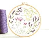 Highland Heathers Embroidery Kit