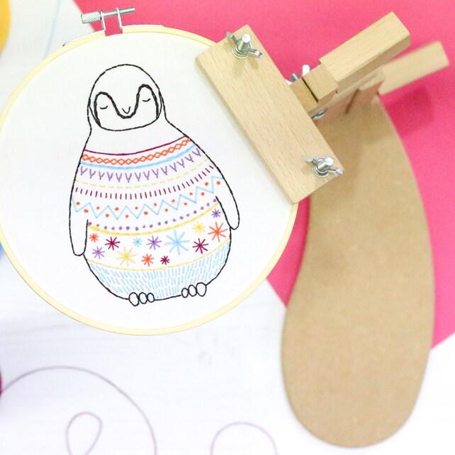 Sonata Embroidery Frame Seat Frame Hoop Holder Hoop Stand | Etsy