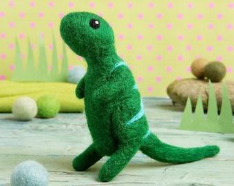 T-Rex Mini Needle Felting Kit - Craft Kit for Beginners