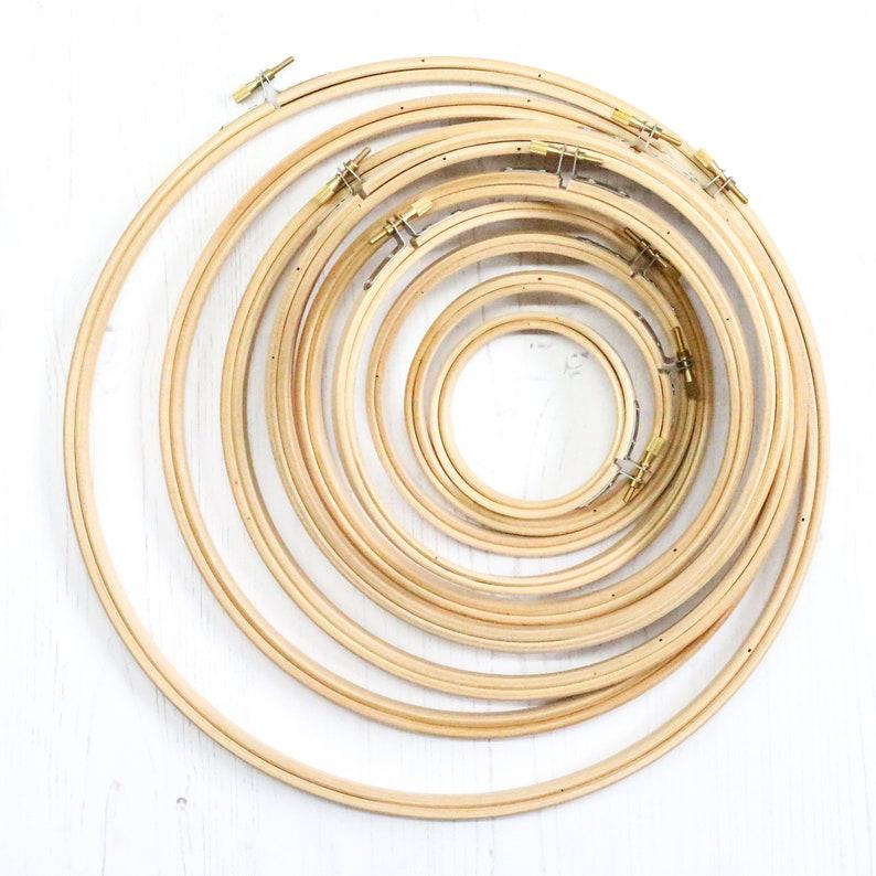 Wooden Embroidery Hoop 7