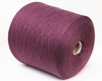 100% cashmere lace weight yarn on cone, knitting yarn, weaving yarn, crochet thread