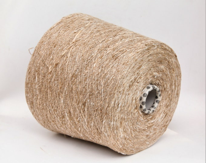 Silk/viscose yarn on cone, per 100g