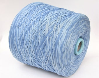100% cotton space dyed yarn on cone, fingering/sock weight yarn for knitting, weaving and crochet, per 100g