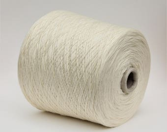 100% wool merino sock weight yarn on cone for dyeing, knitting yarn, weaving yarn, crochet yarn