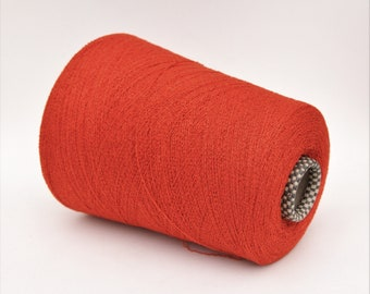 Cashmere/silk bouclé yarn on cone, per 100g