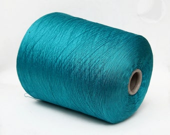 100% mulberry silk yarn on cone, 3/50Nm lace weight yarn for knitting, weaving and crochet, per 100g