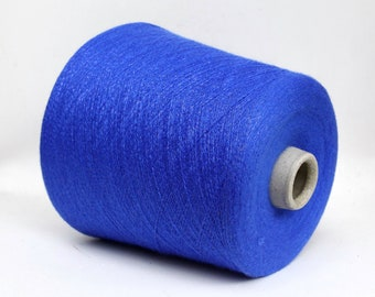 Cashmere/lurex yarn on cone, lace weight knitting, weaving and crochet yarn, per 100g