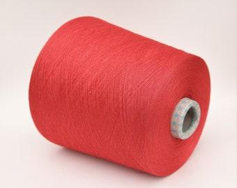 Cashmere/copper yarn on cone, per 50g