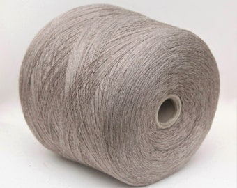 100% wool merino yarn on cone, lace weight knitting yarn, weaving yarn, crochet thread