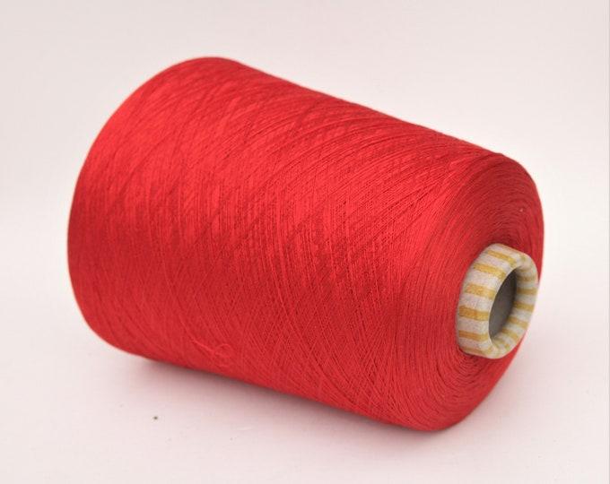 100% mulberry silk yarn on cone, per 900g