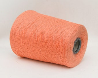 100% cashmere yarn on cone, 2/28Nm lace weight yarn for knitting, weaving and crochet, per 100g