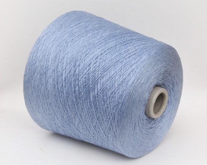 100% silk yarn on cone, 900g cone