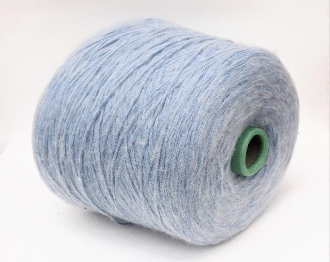Cotton/wool merino yarn on cone, per 100g
