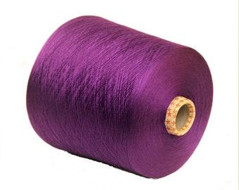 100% mulberry silk yarn on cone, per 100g