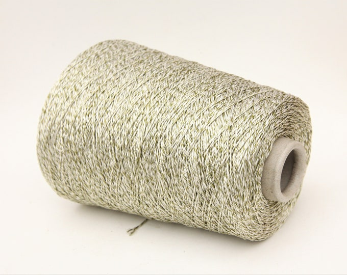 100% mulberry silk yarn on cone, per 100g