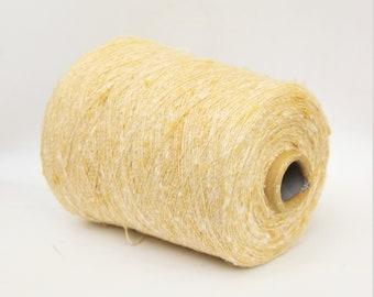 Silk/viscose yarn on cone, per 100g