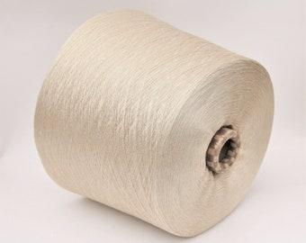 100% aloe vera fiber yarn on cone, per 100g