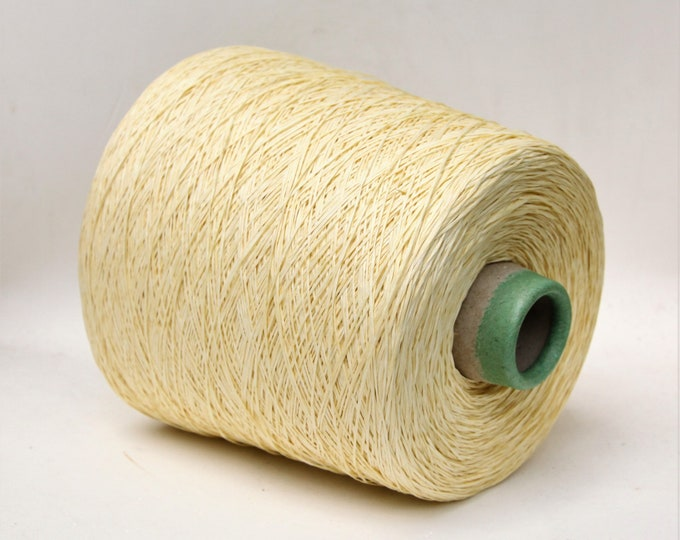 Japanese paper yarn on cone, yarn for knitting, weaving and crochet