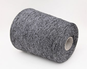 Alpaca/silk/cotton yarn on cone, per 100g