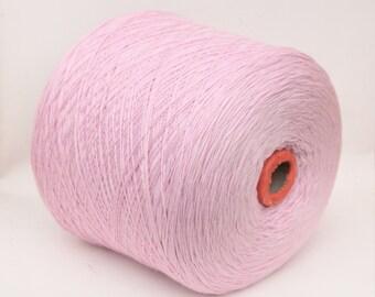 100% wool merino yarn on cone for knitting, weaving, crochet, per 900g