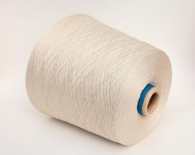 100% cotton yarn on cone, per 900g