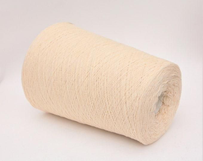 Cashmere/wool merino yarn on cone, per 100g
