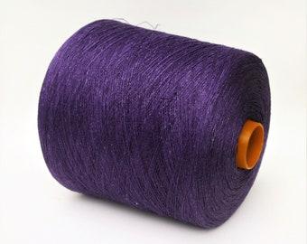 100% linen yarn on cone, per 100g