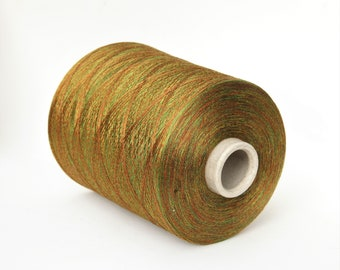 100% mulberry silk space dyed on cone, per 100g