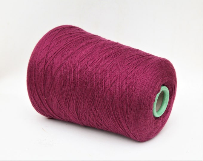 100% baby cashmere yarn on cone, per 100g