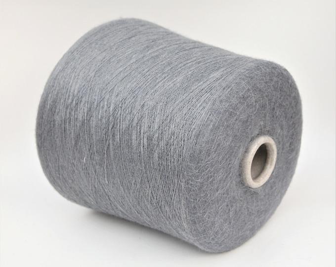 Alpaca/silk yarn on cone, per 100g