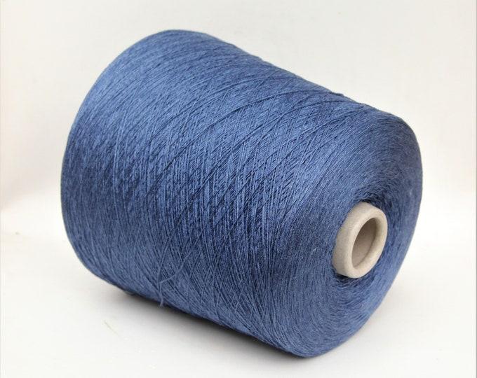 100% silk yarn on cone, per 100g