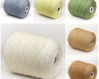 Cashmere/silk/wool merino yarn on cone, 2/15Nm, lace weight yarn for knitting, weaving and crochet, per 100g