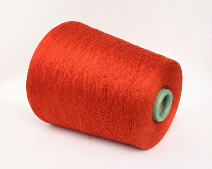 100% japanese mulberry silk yarn on cone, per 100g