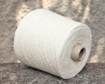 Silk/viscose yarn on cone, 900g cone