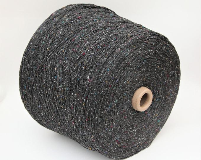 100% tsumugi silk yarn on cone, per 100g