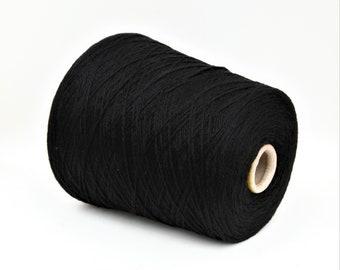 100% cashmere yarn on cone, per 500g