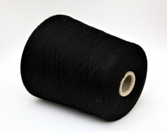 100% wool merino yarn on cone, lace weight yarn for knitting, weaving and crochet, 900g