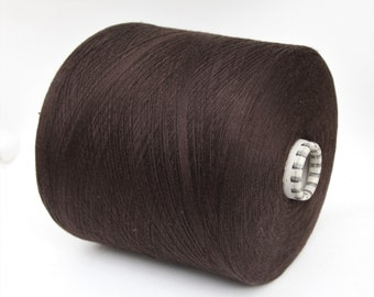 100% egyptian cotton yarn on cone, lace weight yarn for knitting, weaving and crochet, per 100g