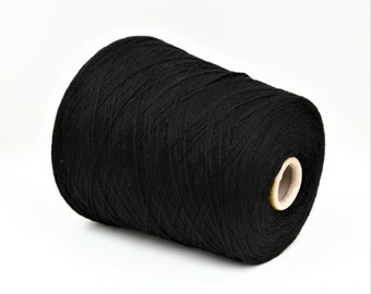 100% cashmere yarn on cone, italian yarn, hand knitting, weaving, crochet, per 100g