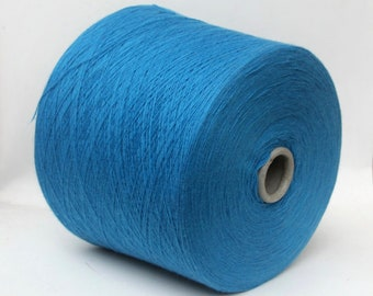 100% baby cashmere yarn on cone, lace weight yarn for knitting, weaving and crochet, per 100g
